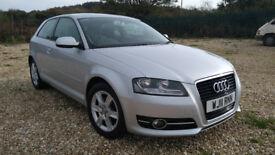 Audi A3 1.2TFSi 3 door. A 2011 car / 11 plate. Full service history, MOT. New timing belt/oil pump