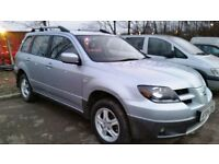 2004 MITSUBISHI OUTLANDER SPORT AUTO 2.4 4X4 - FULL LEATHER - TWIN SUNROOF (PART EX WELCOME)