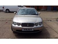 ROVER 75 CLUB. 1.8 PETROL MANUAL 5 DOOR SALOON CAR.
