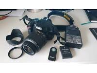 Nikon d3200 - shutter count 4553