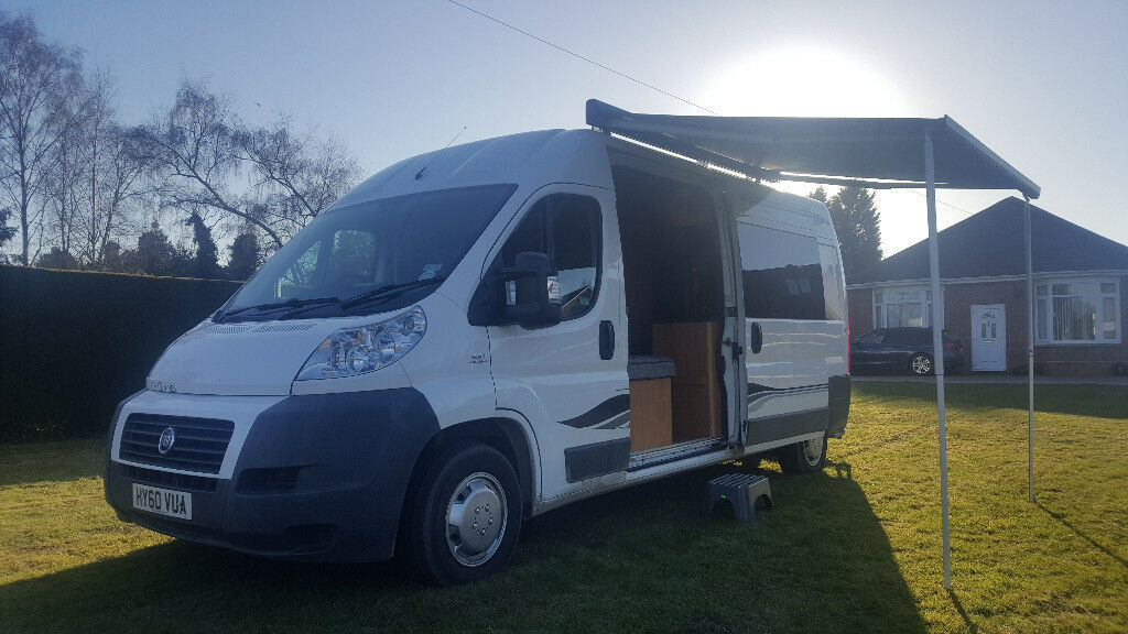 2010 fiat ducato lwb motorhome camper van conversion. Black Bedroom Furniture Sets. Home Design Ideas