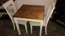 Dining Tables & 2 Chairs