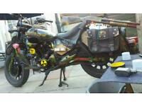 Custom keeway 125cc superlight zombie rat bike
