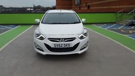 2012 HYUNDAI i40 STYLE 1.7 TURBO DIESEL AUTOMATIC 6 SPEED 5 DOOR ESTATE