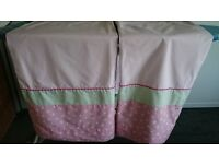 *FOR SALE* NEXT Girls Nursery/Bedroom Pink Curtains (Pair of)