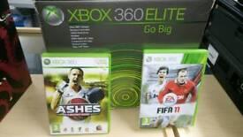 Boxed Xbox 360 elite 250gb