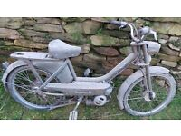 Vintage Retro Peugeot BB Moped Mobylette 50cc Restoratio Project Classic French Quirky Fun