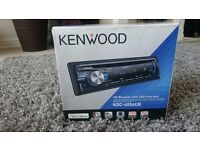 Kenwood KDC-4054UB Car Stereo ( Front AUX-Input )