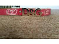 Ladies d and g belt