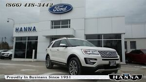 2017 Ford Explorer *NEW* PLATINUM 4WD *600A* 3.5L V6 ECO