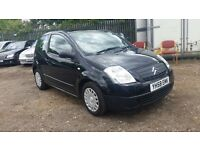 Citroen C2 1.1 i Vibe 3dr, 1 YEAR MOT, LOW MILEAGE, HPI CLEAR,2 KEYS, RECENTLY SERVICED+,P/X WELCOME