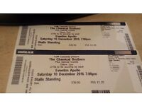2 Chemical Brothers Tickets Stalls Standing for Saturday 10th at the Apollo