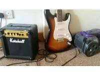 Guitar plus ampl