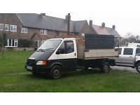 automatic van Transit tipper Aluminium tipping unit tipper truck back dropsides and cage included