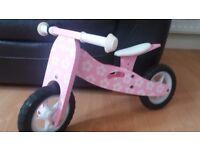 BOPPI Wooden toddler bike/trike