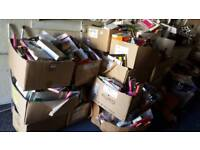 Boxes of phone cases covers iphone 5s samsung galaxy s4 and others 100s