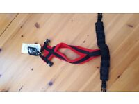 Dog-Games fleece harness size 2 in Red