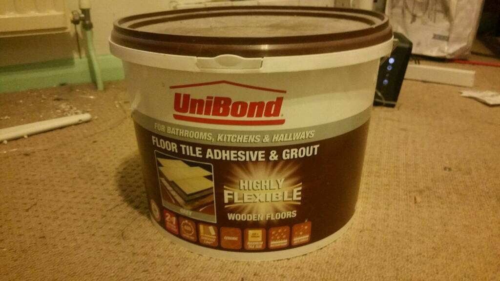 Floor And Tile Adhesive And Grout Grey In Southampton Hampshire