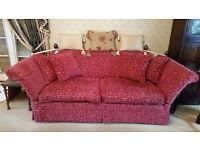 Two Laura Ashley sofas