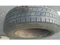 VW transporter spear tyre