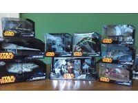Disney Star Wars Diecast Spaceships / Vehicle Collection