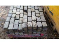 100 mm block paving