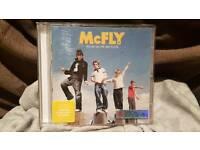 Signed mcfly cd