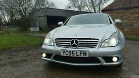 my Mercedes CLS 350 AMG spec full service Mercedes 115 k