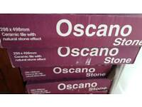 Oscano Stone Graphite coloured tiles