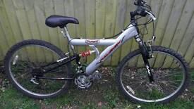 Raleigh Max full suspension bike