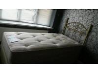 Single Bed & Headboard