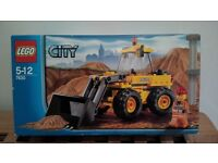 Brand new/ unopened Lego City Front Loader (No.7630)