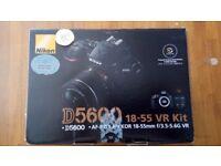 Nikon D5600 18-55 VR Kit + 64GB Memory Card
