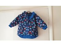 Jojo maman bebe winter coat 12-18months in lovely condition