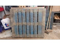 Variety of used Wooden Pallets