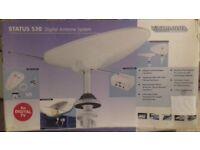 Status 530 Digital Antenna System for Caravans,Motor homes, River homes, Yachts, lorries etc.
