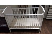 Mother Care Cot Bed White