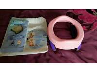Travel potty and seat