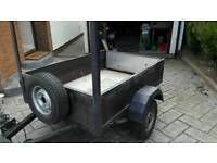 small compact trailer recently refurbished 5ft x 3ft 6inches approx