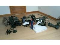 H M Armed forces toys large bundle