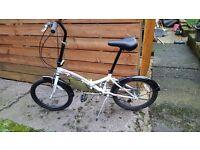 integra folding ladies bike