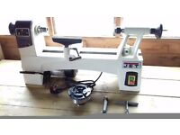 Jet JWL-1015 wood turning lathe with axminster clubman sk100 chuck plus C dovetail jaws