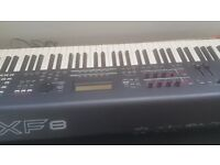 Clean MOXF8 synthesiser Keyboard for sale. £950 ono