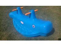 Little Tikes Seesaw Blue Whale
