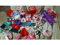 Design/ Build a bear clothes in exc cond
