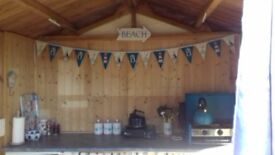 Branksome Dene Chine, Poole, Beach Hut for Hire Airshow weekend