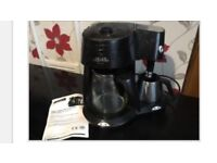Morphy Richards coffee and cappuccino machine