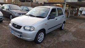 2006 Suzuki Alto 1.1 GL 5dr / VERY LOW MILEAGE / Annual Tax £30