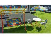 Kiddies outdoor set
