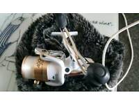 YOU DONT GET DEALS LIKE THIS TO OFTEN..2 reels and tackle bag